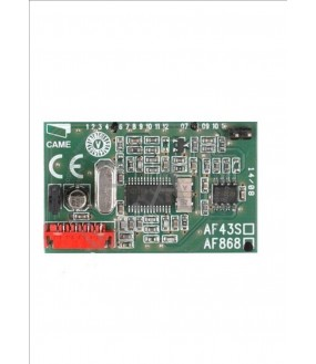 CARTE DE RADIO FREQUENCE EMBROCHABLE EN 86835 MHZ