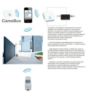 DECLENCHEUR RADIO SUPPL. CAMEBOX