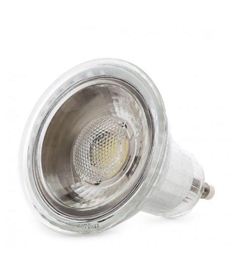 Ampoule À LED COB GU10 7W 550Lm 30.000H Blanc chaud