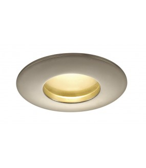 KIT OUT 65 recessed LED titanium ROUND 12W 3000K 38 ° included alim