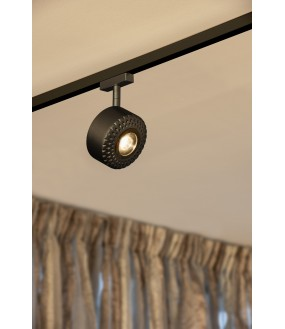 TOTHEE spot for rail 2 ignitions within 25 ° black LED 17W 3000K variable Triac