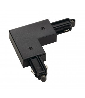 inner land angle connector for ignition rail 1 in black inside projection with power possibility
