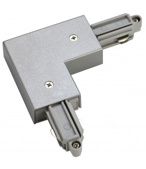 inner land angle connector for ignition rail 1 projecting inside gray silver with catering available