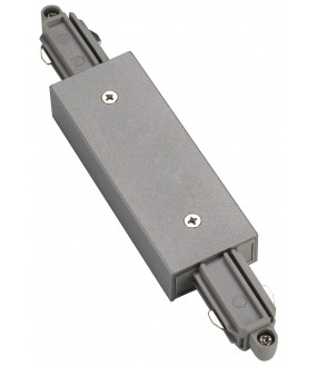 longitudinal connector for ignition rail 1 projecting inside gray silver with catering available