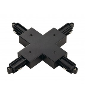 X connector for ignition rail 1 in black inside projection with power possibility