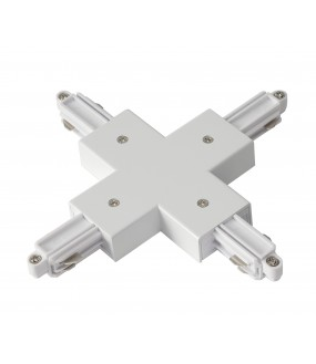 X connector for ignition rail 1 in white inside projection with power possibility