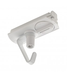 suspension adapter with hook rail 1 switching recessed white interior