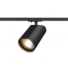 Bilas black round spot LED 15W 2700K 25 ° adapter 1 all included