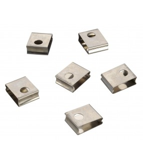 EUTRAC® fixing clips for rail 3 ignitions inside recessed metal parts 6