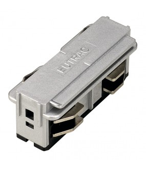 EUTRAC® 3-circuit rail right connector gray interior projection money