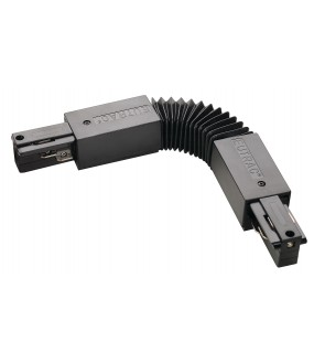 EUTRAC® flex connector rail 3 ignitions black inner projection