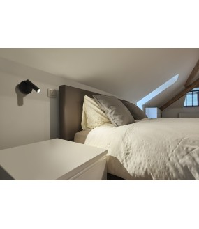 Karpo 30 black interior reading light applied LED 6W 3000K with switch