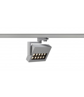PROFUNO spot silver gray LED 3000K 60 ° adapter included 3 all