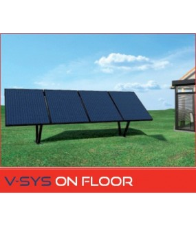KIT V-SYS ON FLOOR 4X250W SUR SUPPORT V2