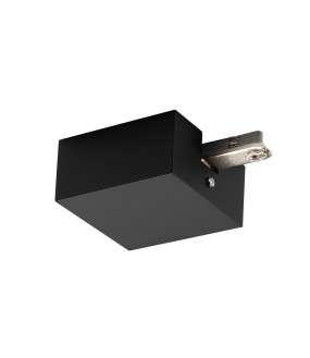 D-TRACK supply with housing for rail 2 black interior lightings
