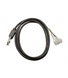 D-TRACK power cable 2m rail within 2 ignitions black junction box with cable included