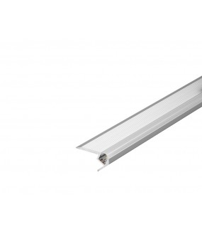 GLENOS® staircase profile UP 100 with diffuser 1m anodised aluminum
