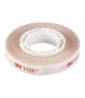 Double-sided adhesive transparent 3 m