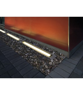 DASAR® recessed stainless steel exterior ground G5 / T16 23,3W max IP67 stainless steel collar 316