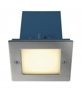 FRAME OUTDOOR LED recessed square white hot steel