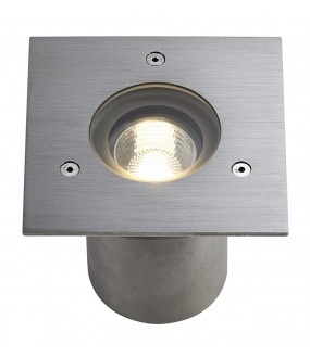 N-TIC PRO 135 square recessed GU10 brushed stainless steel 316 max 35W IP67