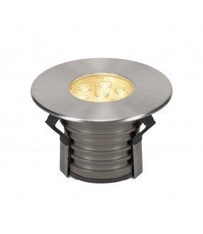 DASAR® 150 outdoor floor recessed PREMIUM round 30 ° stainless LED 17W 3000K IP67 stainless steel collar 316