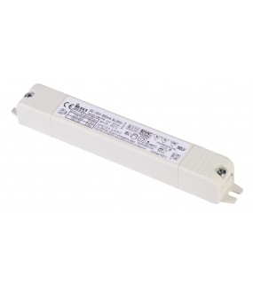LED power supply 350mA 15W white interior strain relief included