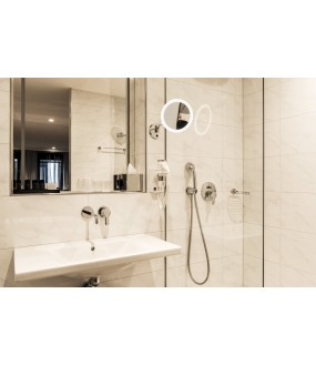 MAGANDA applies inner mirror chrome / white LED 4,2W 3000K IP44 with switch