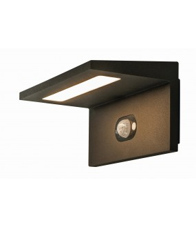 ANGOLUX anthracite SOLAR solar LED outdoor applies 1.8W 3000K IP54 motion detector