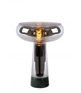 Listelle table lamp Ø 28 cm 1xE27 smoked