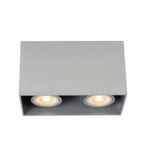 Bodi spot ceiling 2xgu10 chrome frosted