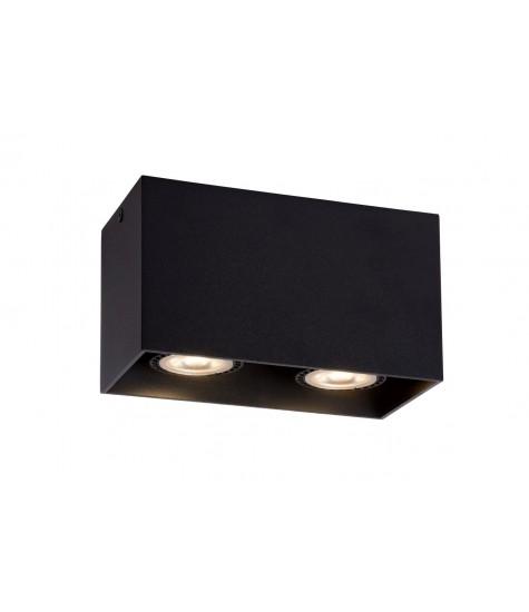 Bodi spot ceiling 2xgu10 black