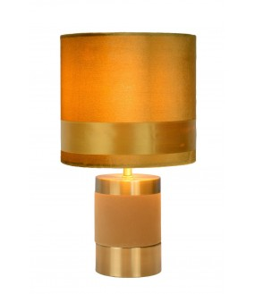 Extravaganza frizzle table lamp Ø 18 cm 1xE14 yellow