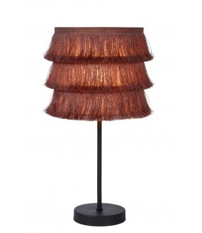 Extravaganza Togo table lamp Ø 18 cm 1xE14 pink