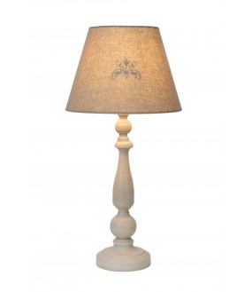 Robin table lamp Ø 26 cm 1xE27 taupe