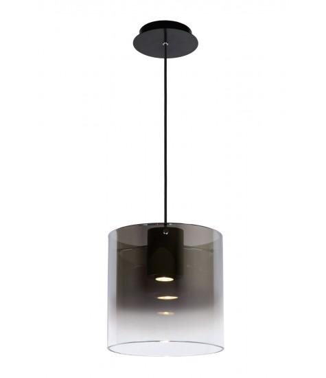 Owino suspension Ø 25 cm LED dim. GU10 1x5W 3000K smoked