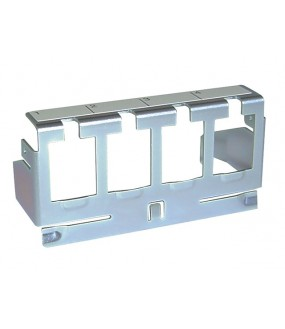 SUPPORT 8 RJ45 FIXATION RAIL DIN