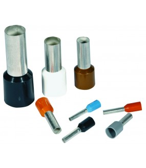 EMBOUT SIMPLE 2,5MM² GRIS(SACH100)