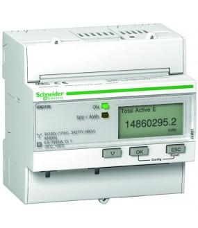 Compteur d'énergie 63A (3P+N, RAZ)