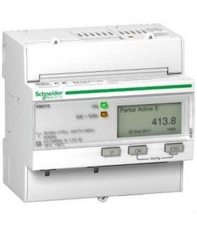 Compteur d'énergie 63A (3P+N, RAZ), Impulsionss, MID
