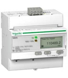 Compteur énergie TI (3P+N, RAZ),Modbus,Multi-tarifs,Alarme kW,MID