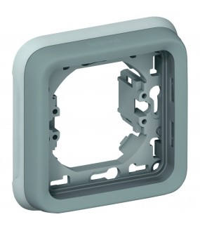 PLEXO PLAQUE SUPPORT 1P GRIS