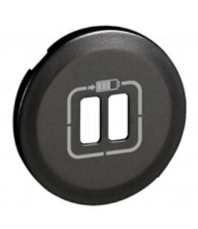 CELIANE ENJOLIVEUR 2XCHARGEUR USB GRAPHITE