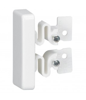 EMBOUT 40X20 BLANC