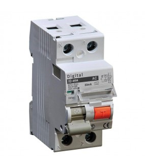 INTER DIFF 2X40A/30MA TYPE AC