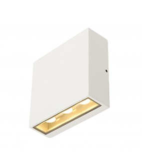 BIG QUAD APPLIQUE, CARREE, BLANCHE, 3X2W LED 3000K