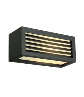 BOX-L E27 APPLIQUE, CARREE, ANTHRACITE, E27, MAX. 18W