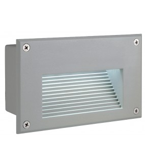 BRICK DOWNUNDER LED, ENCASTRE, RECTANGULAIRE, GRIS ARGENT, L