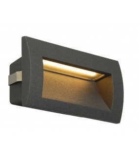 DOWNUNDER OUT LED M, ENCASTRE MURAL ANTHRACITE, LED 0.96W 30