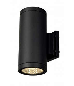 ENOLA_C OUT UP-DOWN APPLIQUE, RONDE, ANTHRACITE, 9W LED, 300